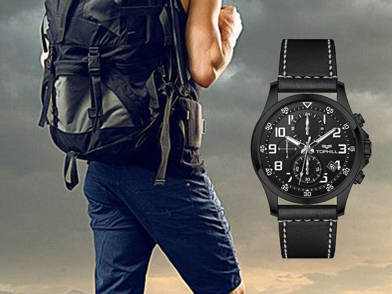 multifunctional chronograph wrist watch case manufacturer for adults-5