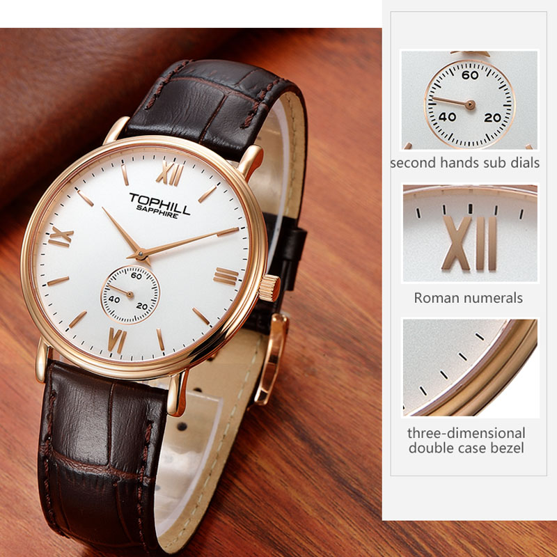 simple popular mens watches waterproof factory for work-4