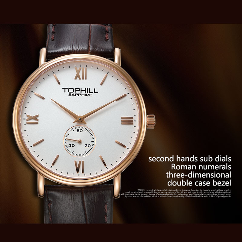 simple popular mens watches waterproof factory for work-5