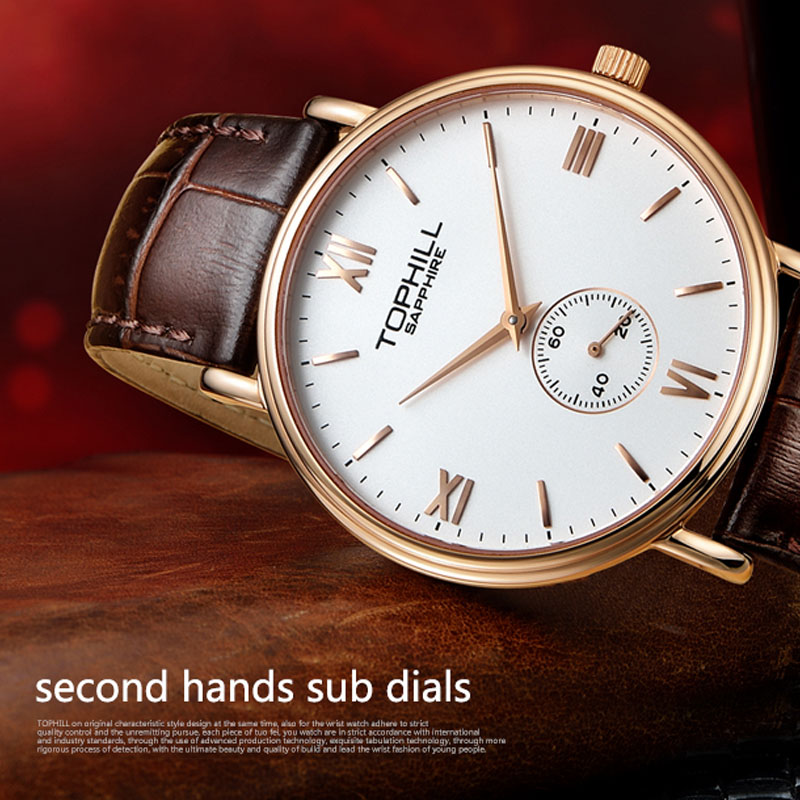 simple popular mens watches waterproof factory for work-6