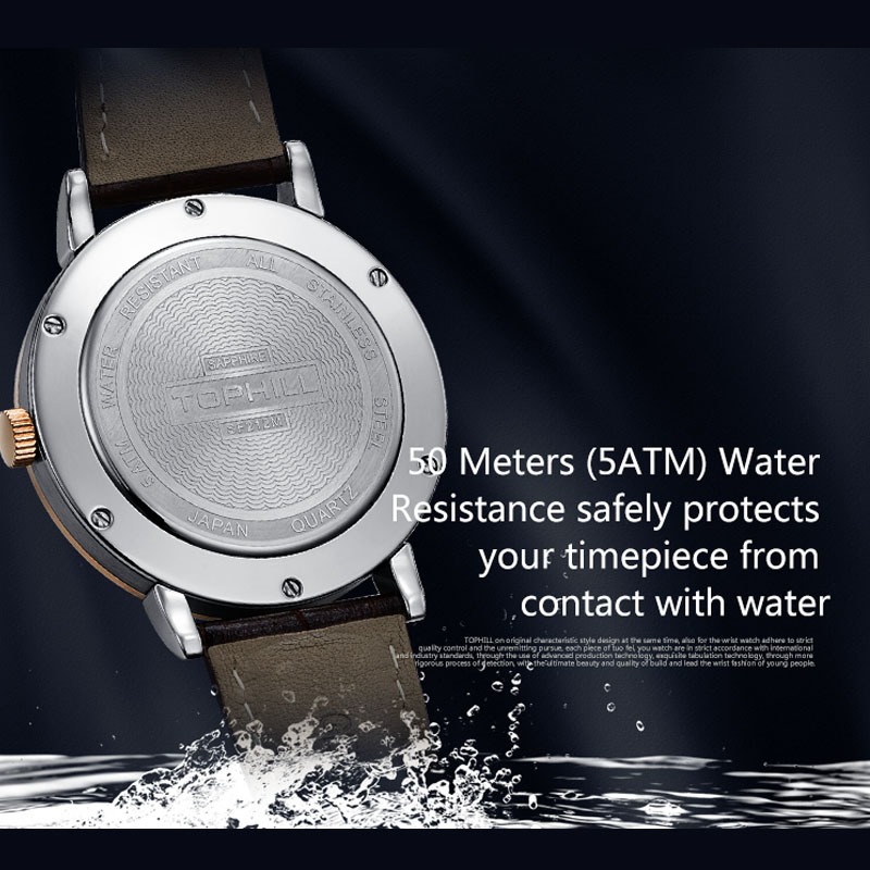waterproof chronograph wrist watches arabic supplier for sport-8
