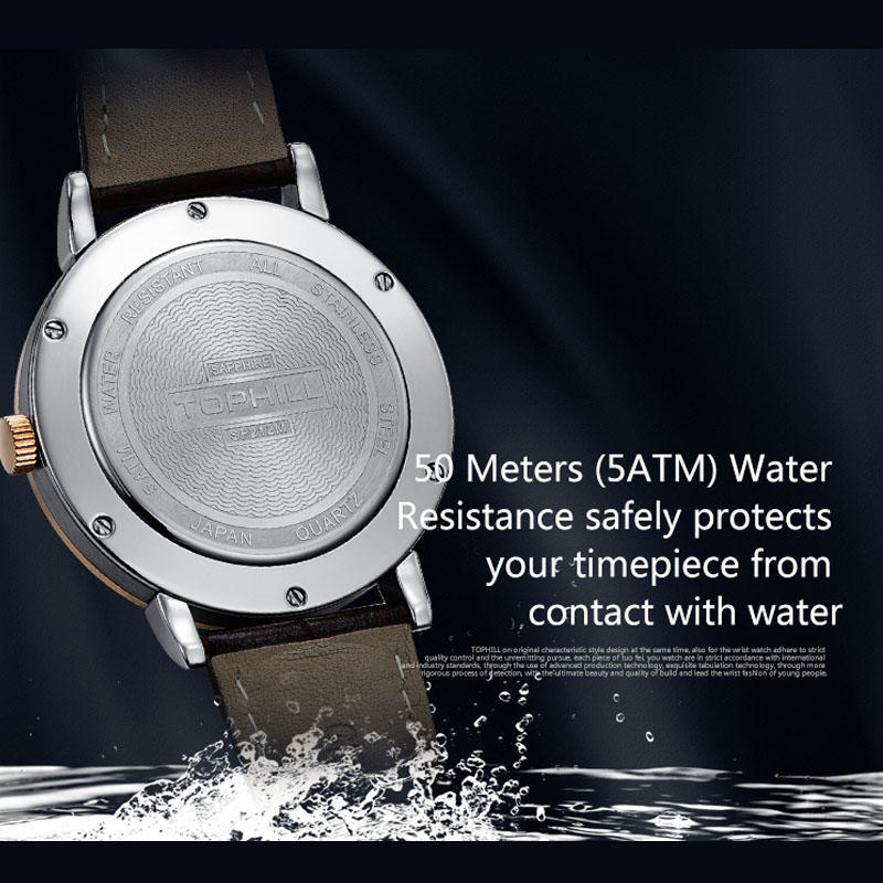 waterproof chronograph wrist watches arabic supplier for sport