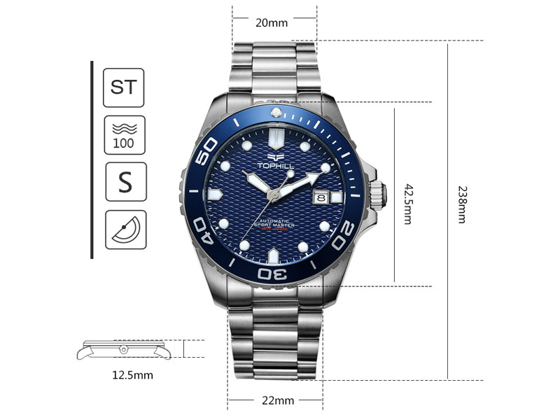Super Time luxury automatic watch mechanism supplier for work-4