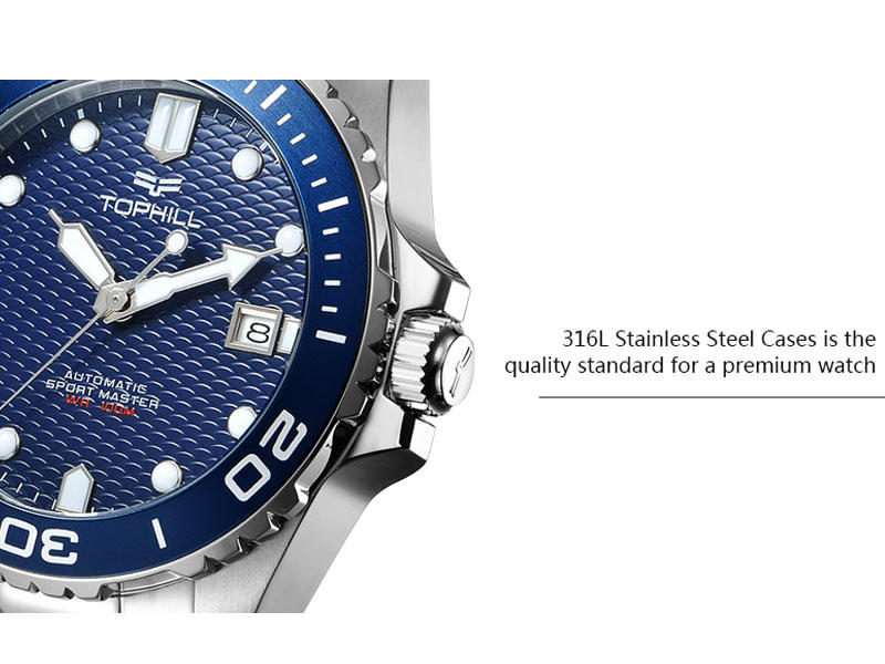 Super Time luxury automatic watch mechanism supplier for work