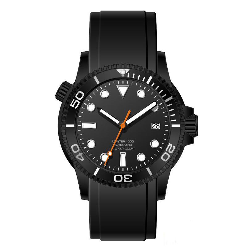 Luminous 300meter Water Resistant automatic Men Diver Wristwatches