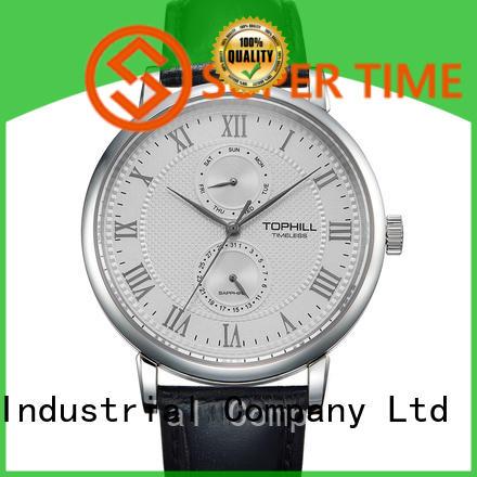 waterproof chronograph wrist watches arabic supplier for sport