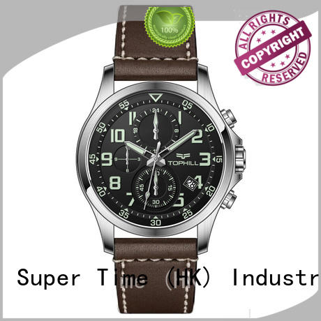 multifunctional chronograph wrist watch case manufacturer for adults