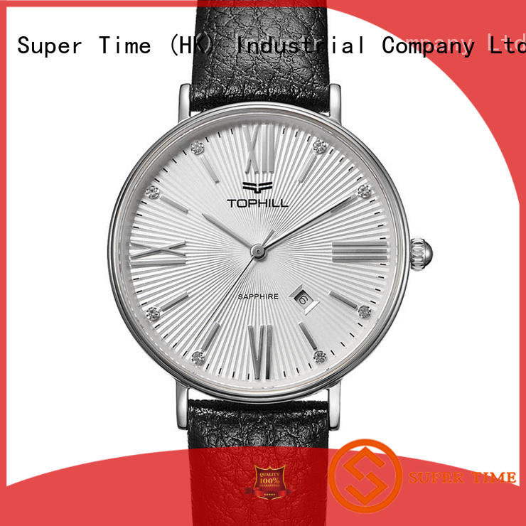 Hot shell female watches leather wristwatch Super Time Brand