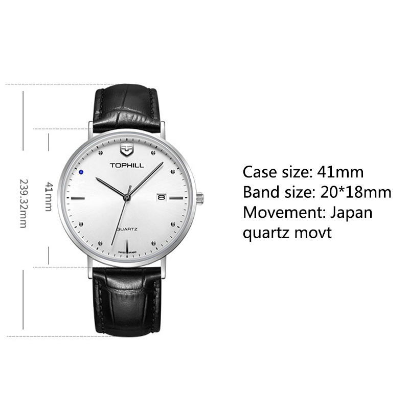 Super Time waterproof classic watches for men manufacturer for date-3