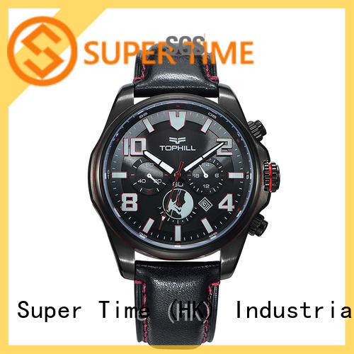 Super Time luminous top chronograph watches factory for date