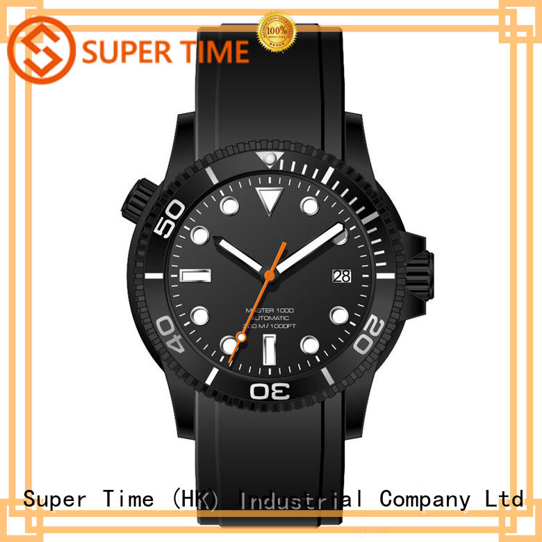 Super Time automatic quartz dive watch customized for outdoor