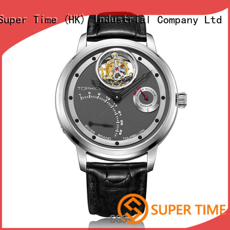 Super Time waterproof odm affordable tourbillon watches factory for work