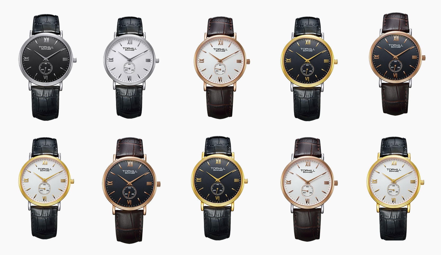 simple popular mens watches waterproof factory for work-2