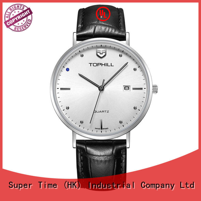 Minimalist Design  Japan Quartz Leather Strap Men Watch