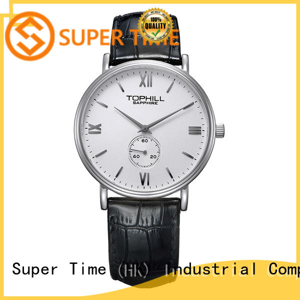 simple popular mens watches waterproof factory for work