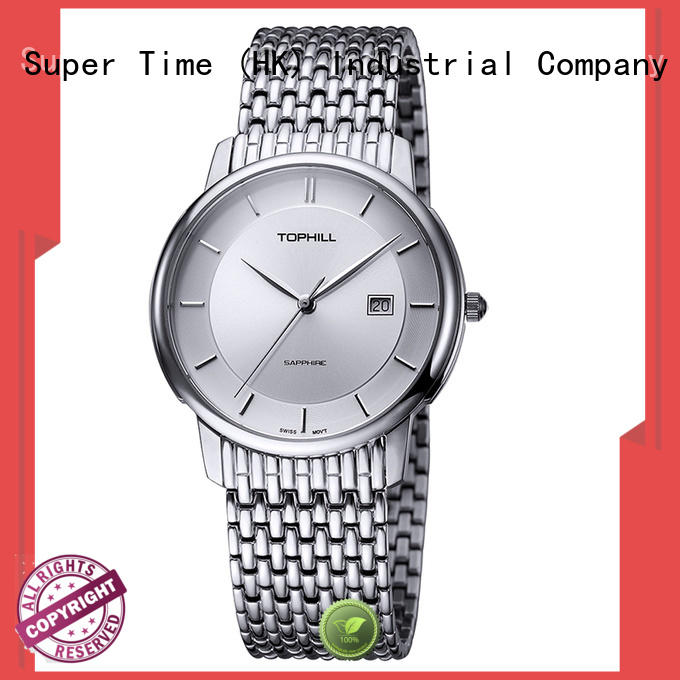 Super Time quartz classic watches for men manufacturer for business