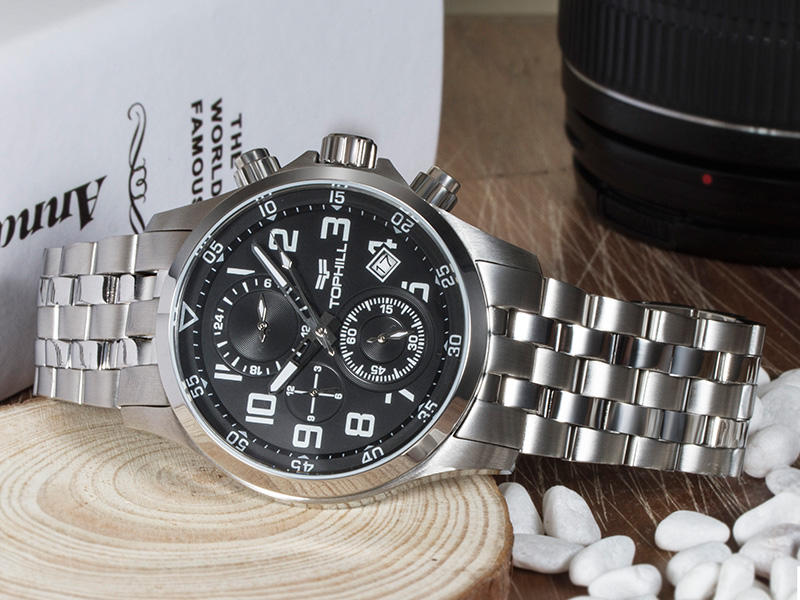 multifunctional chronograph wrist watch case manufacturer for adults-3