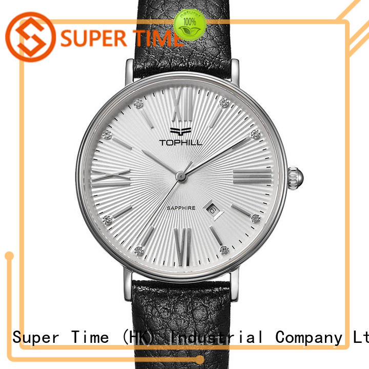 Super Time quart watch supplier modern for business