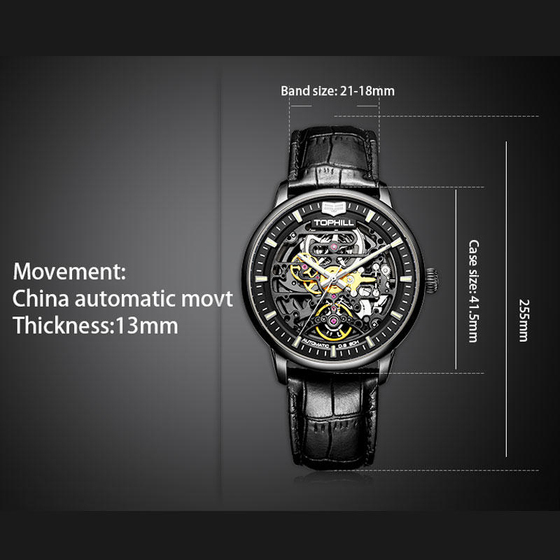 automatic automatic watch mechanism luxury manufacturer for work-3