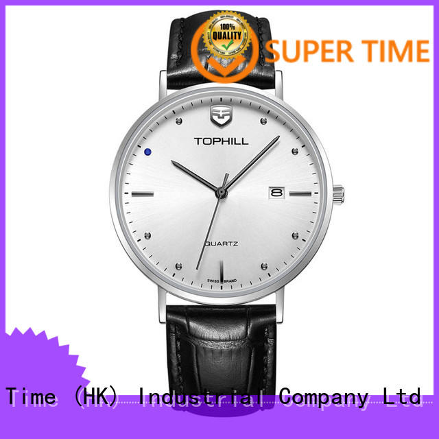 Super Time waterproof classic watches for men manufacturer for date