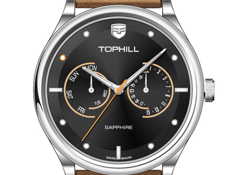 Super Time roman multifunction watches customized for adults-3
