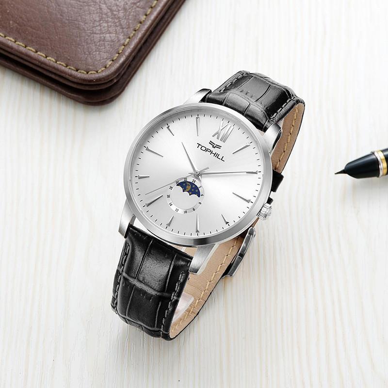 Super Time gold mens quartz watches design for work-3