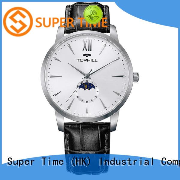 Super Time gold mens quartz watches design for work