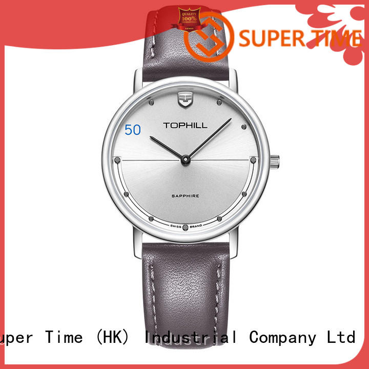 Super Time simple stylish watches for men supplier for formal